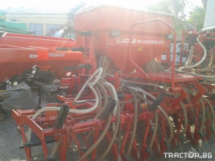 Сеялки Sola Сеялка SOLA Neumasem 699 7 - Трактор БГ
