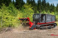 Самоходна верижна машина за горски терени AHWI Raptor 300