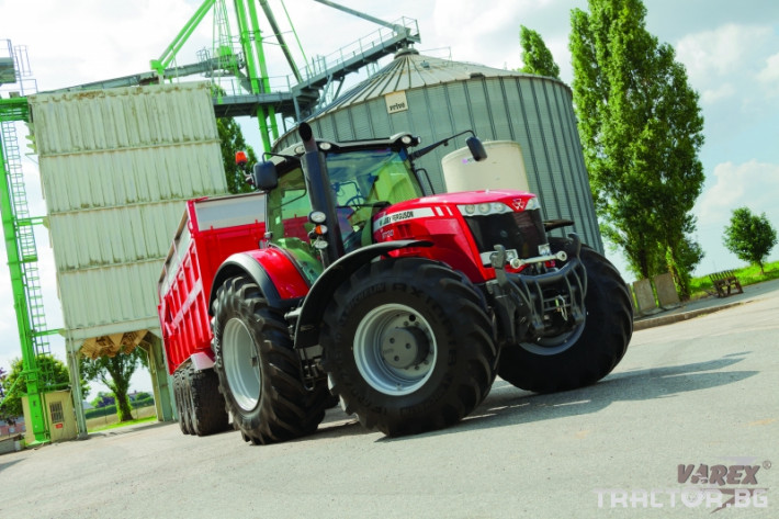 Трактори Massey Ferguson 8735S 0 - Трактор БГ