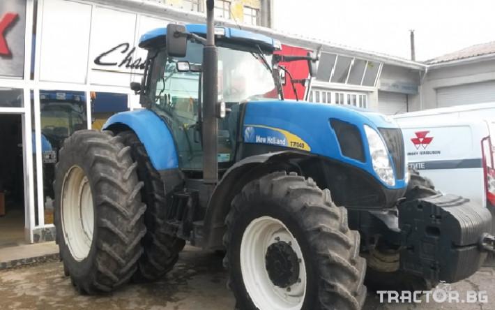 Трактори New Holland T7040 4 - Трактор БГ