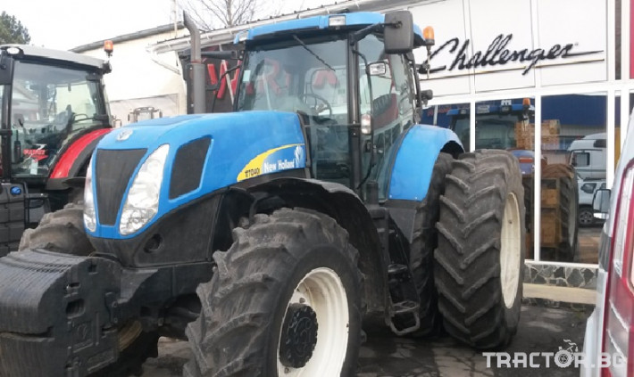 Трактори New Holland T7040 0 - Трактор БГ