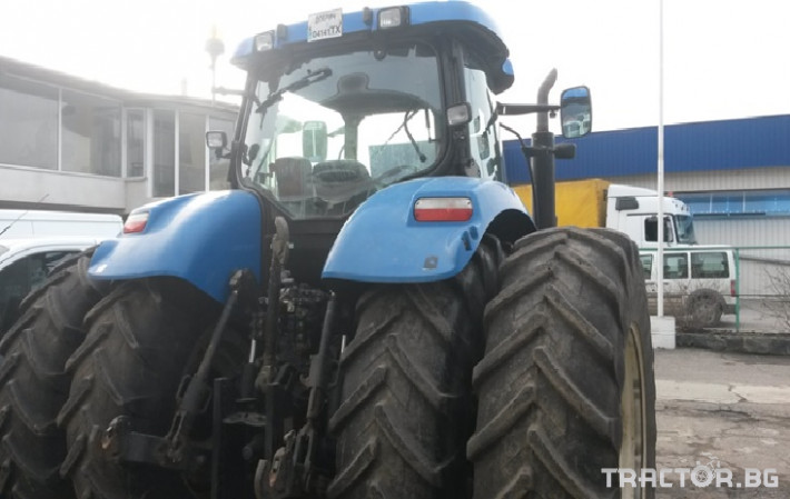 Трактори New Holland T7040 1 - Трактор БГ