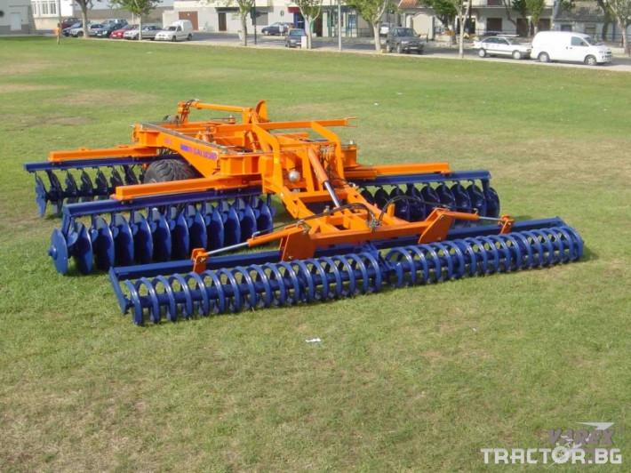 Брани Дискова брана Galucho GXM 1 - Трактор БГ