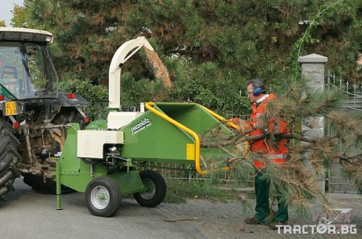 Машини за дърводобив НАДРОБИТЕЛ НА ДЪРВЕНА МАСА PEZZOLATO PZ140 1