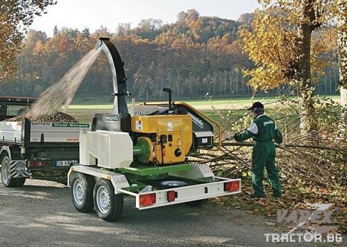 Машини за дърводобив НАДРОБИТЕЛ НА ДЪРВЕНА МАСА PEZZOLATO PZ210 2 - Трактор БГ