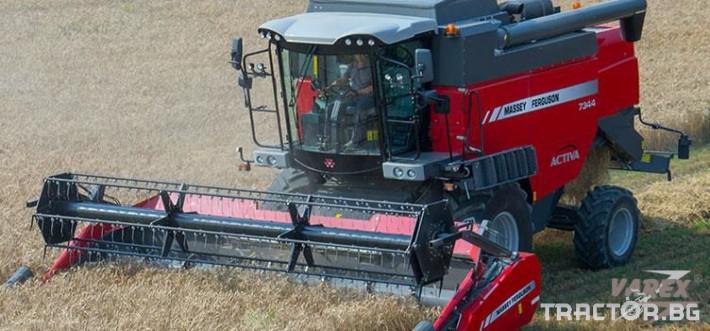Комбайни MASSEY FERGUSON ACTIVA 7344 0 - Трактор БГ