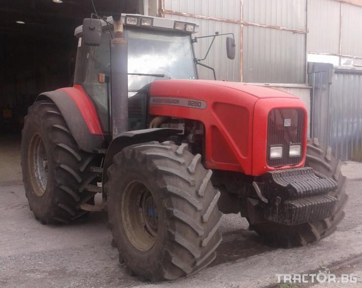 Трактори Massey Ferguson Употребяван трактор MF8280 0 - Трактор БГ