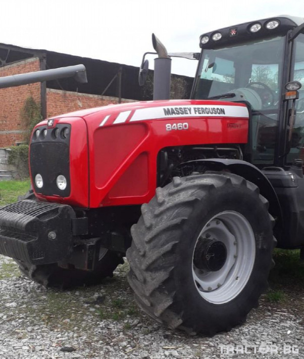 Трактори Massey Ferguson Употребяван трактор MF8460 1