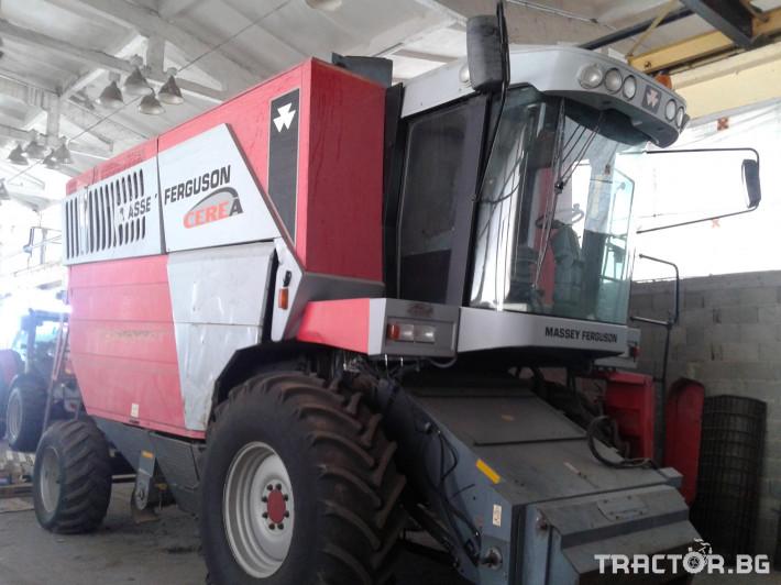 Комбайни Massey Ferguson Употребяван комбайн MF7272 4 - Трактор БГ