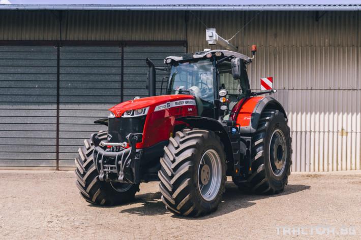 Трактори Massey Ferguson 8740S 1 - Трактор БГ