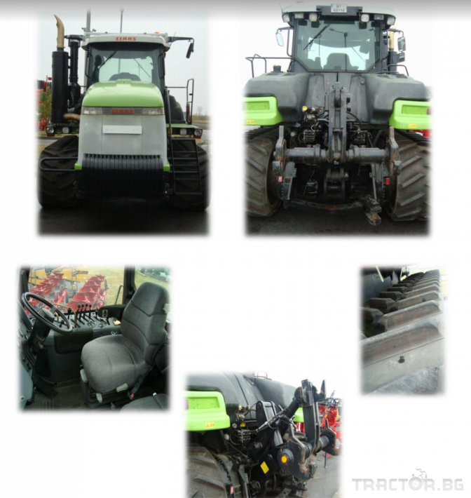 Трактори Challenger Употребяван трактор 85E 2 - Трактор БГ