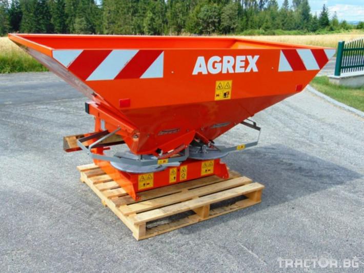 Торачки Agrex TVX 850 1 - Трактор БГ