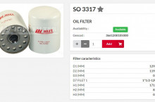 HIFI FILTER SO3317