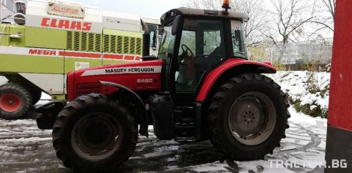 Трактори Massey Ferguson Употребяван трактор MF6480 1 - Трактор БГ