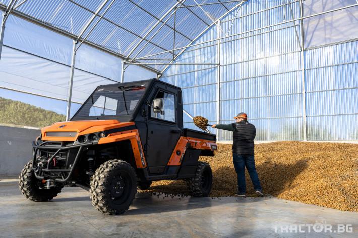 UTV, ATV, сервизни коли UTV CORVUS TERRAIN DX4 CAB 0 - Трактор БГ