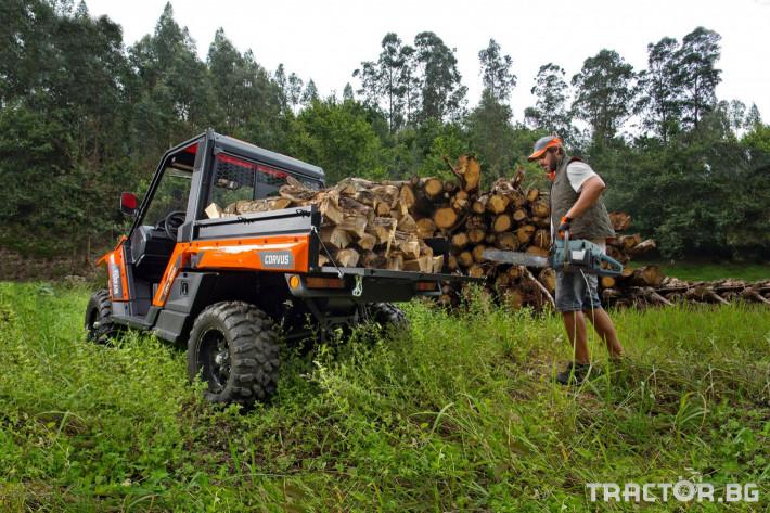 UTV, ATV, сервизни коли UTV CORVUS TERRAIN DX4 CAB 2 - Трактор БГ
