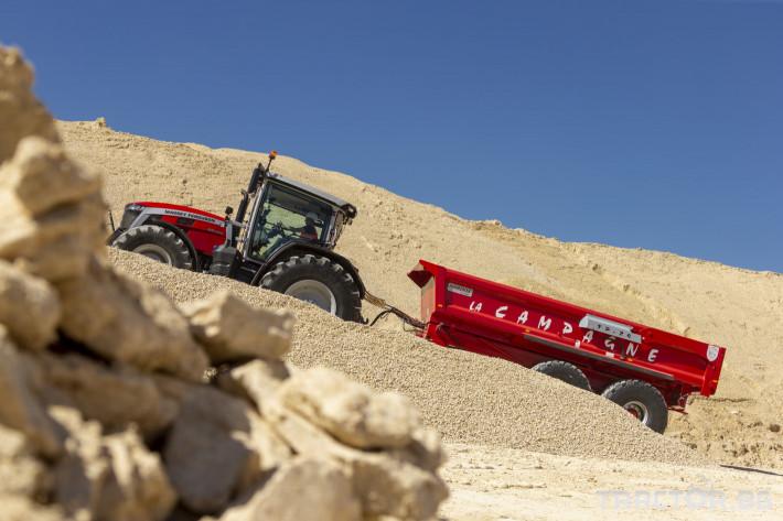 Трактори Massey Ferguson 8S.265 3 - Трактор БГ