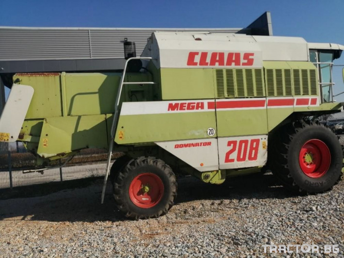 Комбайни Claas Употребяван комбайн Mega 208 0 - Трактор БГ