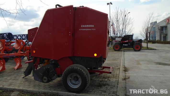 Сламопреси УПОТРЕБЯВАНА СЛАМОПРЕСА ZAGRODA 1410 2 - Трактор БГ